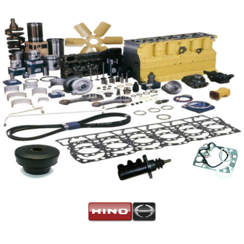 Spare Parts for Construction Machinery Engines: Hino