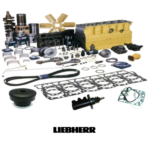 Spare Parts for Construction Machinery Engines: Liebherr