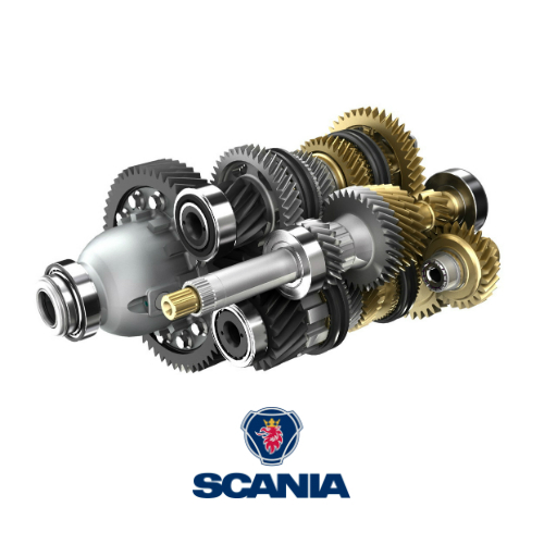 Spare Parts for Truck Gearbox: Scania