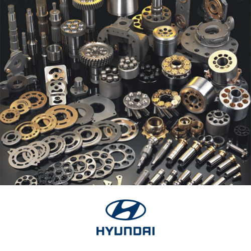 Spare Parts for Construction Machinery Hydraulics Hyundai