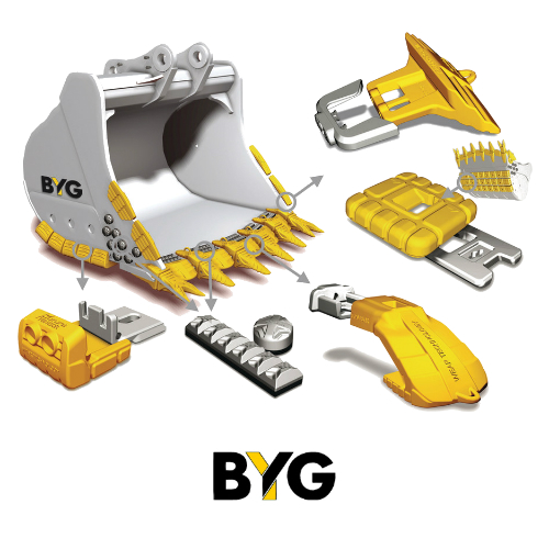 Spare Parts for Construction Machinery Running Gears BYG