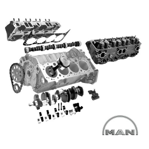 Spare Parts for Truck Engines: Man