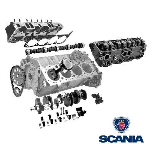 Spare Parts for Truck Engines: Scania