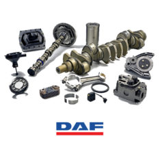 Spare Parts for Truck Running Gears: Daf