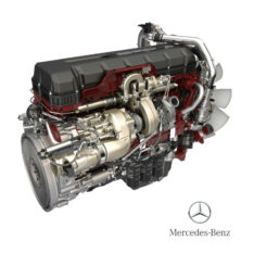 Truck Engines: Mercedes Benz